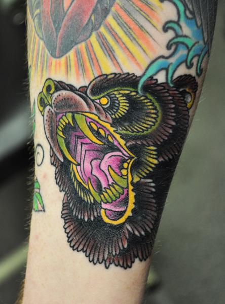Tattoo of a bear