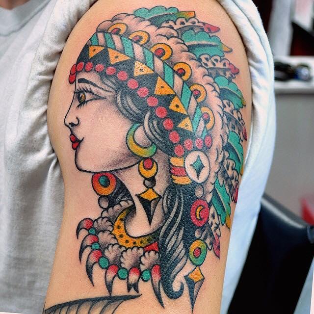 nativeamericangirlchriskline